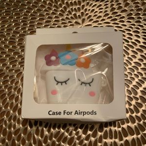 Accessories - White unicorn AirPod protection case